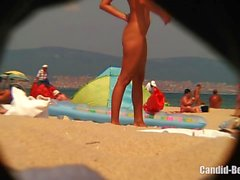 Amateur Teen Couples At Nudist Beach Spycam Voyeur HD Vid