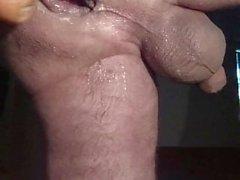 Destrozando totalmente mi culo jugoso con una zanahoria Butthole goteo de mantequilla