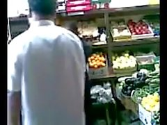 Fun at a desi supermarket