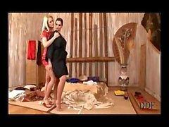 Eve Angel e Vivien fare sesso con un Doubel Dong