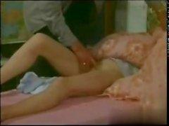 retro style or vintage fucking porn video