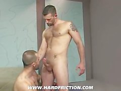 Morgan Black and Felix Barca in 'Satisfaction'