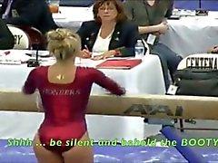 Whooty gymnaste de PAWG l'âne l'OMG ! - Ameman