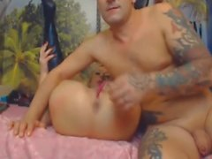 Very Hot Couple Fucking on Cam