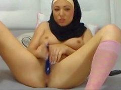 Arab Muslim hijab cute girl