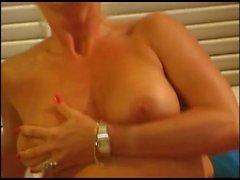 German Mature Alexandra-Hot Games and Anal Massage