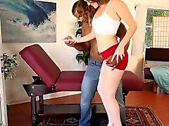 Stacey Persone LeAnn amano guarda il marito Succhi gallo nero