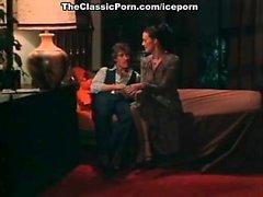 John Holmes, Chris Cassidy, Paula Wain in vintage porn clip