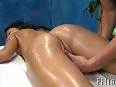 Cute gals share one cock