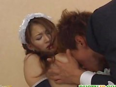 Yuki is one dirty maid in need for cock