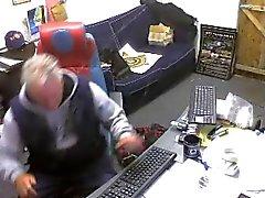 Ragazzi etero i piedi sul di webcam # 458