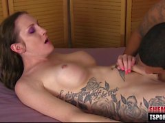 hot shemale hardcore anal with cumshot feature film 1