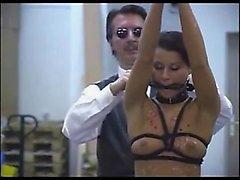 Brunette Slave