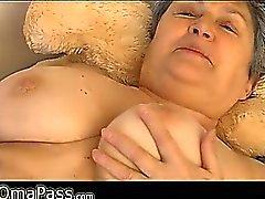 Granny with big panties OmaPass