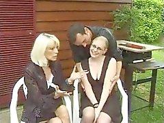 FRANZÖSISCHER CASTING n70 französisch blond After Teen Babe mit Gläsern