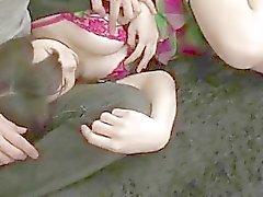A estimulação do bichano grave para pechugóa nova Honami Uehara