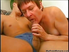 Chubby Mature With The Hairy Cunt Is Satisfying