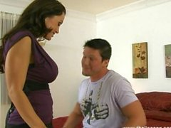SuperMILF Lisa Ann Taking on Aaron Wilcox for First Time