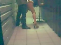 French slut at work (Hidden cam)