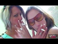 Smoking lesbians