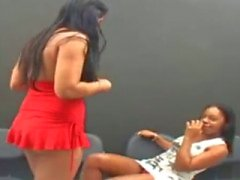 Brasilian Lesbot Kissing 2