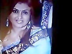 Sperma Tribut zum indischen Tamilen Actress Sona indisch desi indischer Abspritzer arabischen