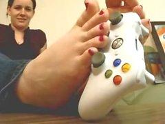 Playful Feet