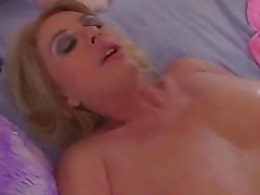 Blonde Mommie With Huge Tits