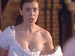 Alyssa Milano - Charmed season 4 collection