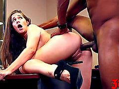 Cassidy Klein fearsome-menacing My Darksome Boss threatening-menacing Scene three HD Porn Movies