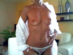 Blonde mature wow women masturbate
