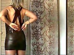 sensual lady in wardrobe