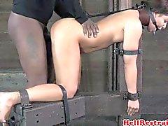 Bounded SM Prostituierte Geilste Haken klatschte und