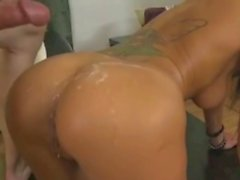Breanne Benson cumshot & swallow compilation