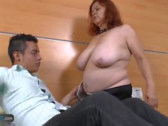 AgedLovE BBW Granny Chubbies Enjoying Hardcore