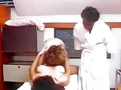 Threesome retro fucking hot scenes