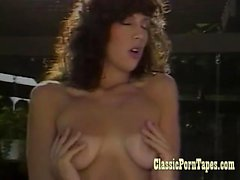 Romantic sex in a vintage porn