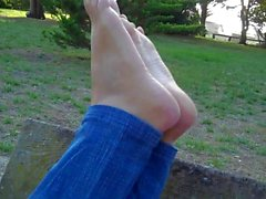 Perfect Teen Soles In The Park