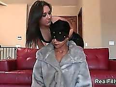 Sexy brunette tied up babe getting part5