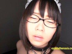 Debut adolescente bonito Shiori Koto Jav amarrado com corda