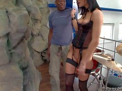 Aliz loves Big black Dick of her buddy