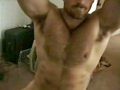 Muskels Bolzen hid Achsel auf Webcam zu zeigen