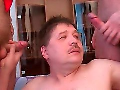 Жировые геи вин Дикс со страстью