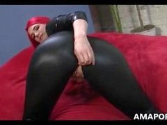 nice blowjob red girl - amaporn
