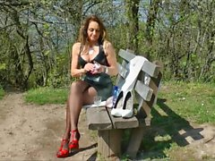 Sexy Fetish Lady on Hi-Heels