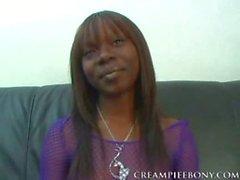 Ashley Brooks interracial Cremita