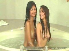 Karla Spice Lesbian With Friend