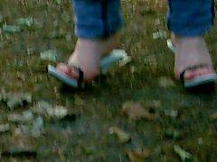Bullwhip Knacken von meinem Wooden High Heel Lady in Wood 2