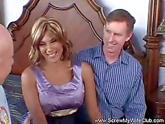 Swinger Latina Wife Fcuks A Stranger
