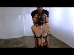 Submissive woman loves it this way